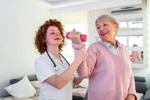 پرستار سالمند و ورزش